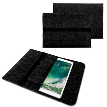 Tablet Tasche für Apple iPad Pro 2017 Pro 10.5 Filz Hülle Schutzhülle Case Cover – Bild 8