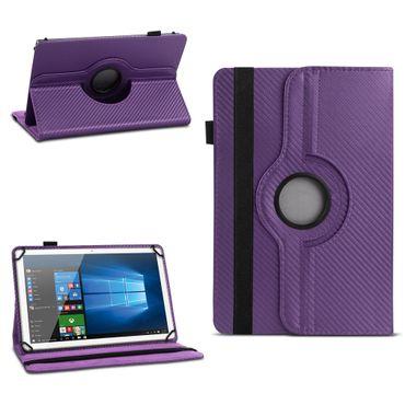 Tablet Hülle Odys Pyro 7 Plus Tasche Schutzhülle Cover Case Drehbar Carbondesign – Bild 14