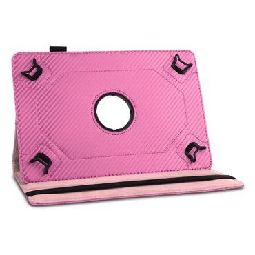 Tablet Hülle Odys Pyro 7 Plus Tasche Schutzhülle Cover Case Drehbar Carbondesign – Bild 24