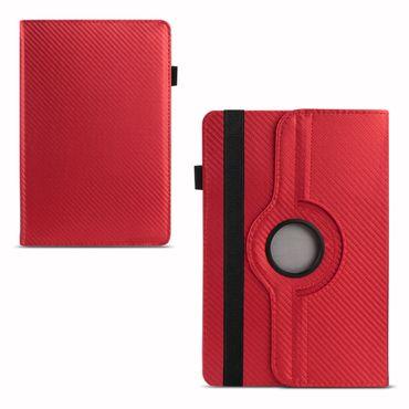 Tablet Hülle Odys Pyro 7 Plus Tasche Schutzhülle Cover Case Drehbar Carbondesign – Bild 13