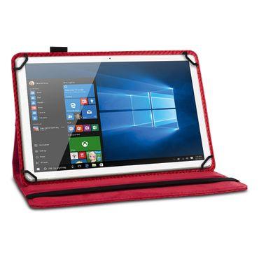 Tablet Hülle Odys Pyro 7 Plus Tasche Schutzhülle Cover Case Drehbar Carbondesign – Bild 9