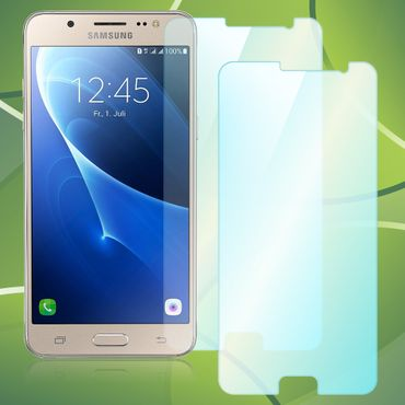 Samsung Galaxy J5 2016 Panzerfolie Schutzglas 2x Glasfolie Displayschutz Glas 9H – Bild 1
