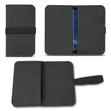 Filz Tasche Samsung Galaxy S7 / S7 Edge Cover Hülle Case Handy Flip Filztasche  – Bild 14