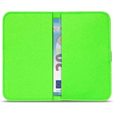 Apple iPhone SE 5 5S 5C Tasche Filz Hülle Cover Handy Schutz Case Schutzhülle  – Bild 24