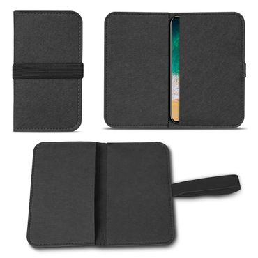 Filz Tasche für Apple iPhone X XS Hülle Handy Cover Smartphone Case Schutzhülle – Bild 14