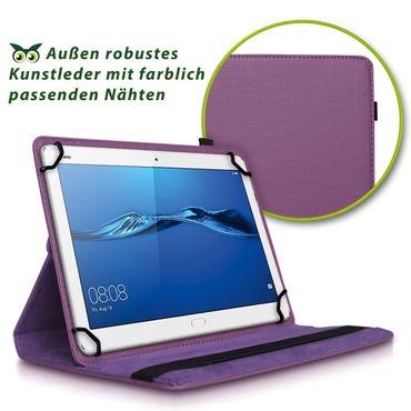 Huawei MediaPad T3 10.0 Tablet Hülle Tasche Schutzhülle Case Cover 360° Drehbar – Bild 21
