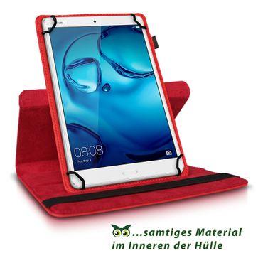 Huawei MediaPad T3 10.0 Tablet Hülle Tasche Schutzhülle Case Cover 360° Drehbar – Bild 10