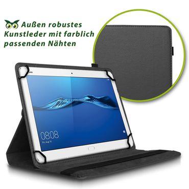 Huawei MediaPad T3 10.0 Tablet Hülle Tasche Schutzhülle Case Cover 360° Drehbar – Bild 3