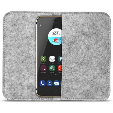 Filz Tasche ZTE Blade V9 Cover Hülle Case Schutzhülle Handy Flip Filztasche Etui – Bild 16