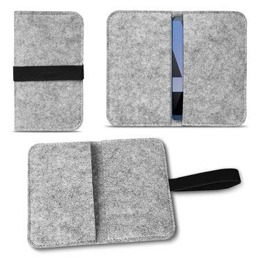 Filz Tasche für Huawei Mate 10 Pro Hülle Handy Cover Smartphone Case Schutzhülle – Bild 2