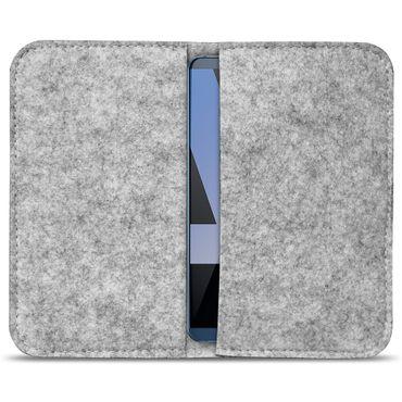 Filz Tasche für Huawei Mate 10 Pro Hülle Handy Cover Smartphone Case Schutzhülle – Bild 3