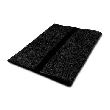 Schutzhülle Apple MacBook 12 Tasche Hülle dunkel Grau Filz Cover Sleeve Case  – Bild 5