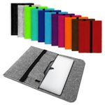 Laptop Tasche Sleeve Hülle Schutztasche Filz Cover für Tablets und Notebooks 001