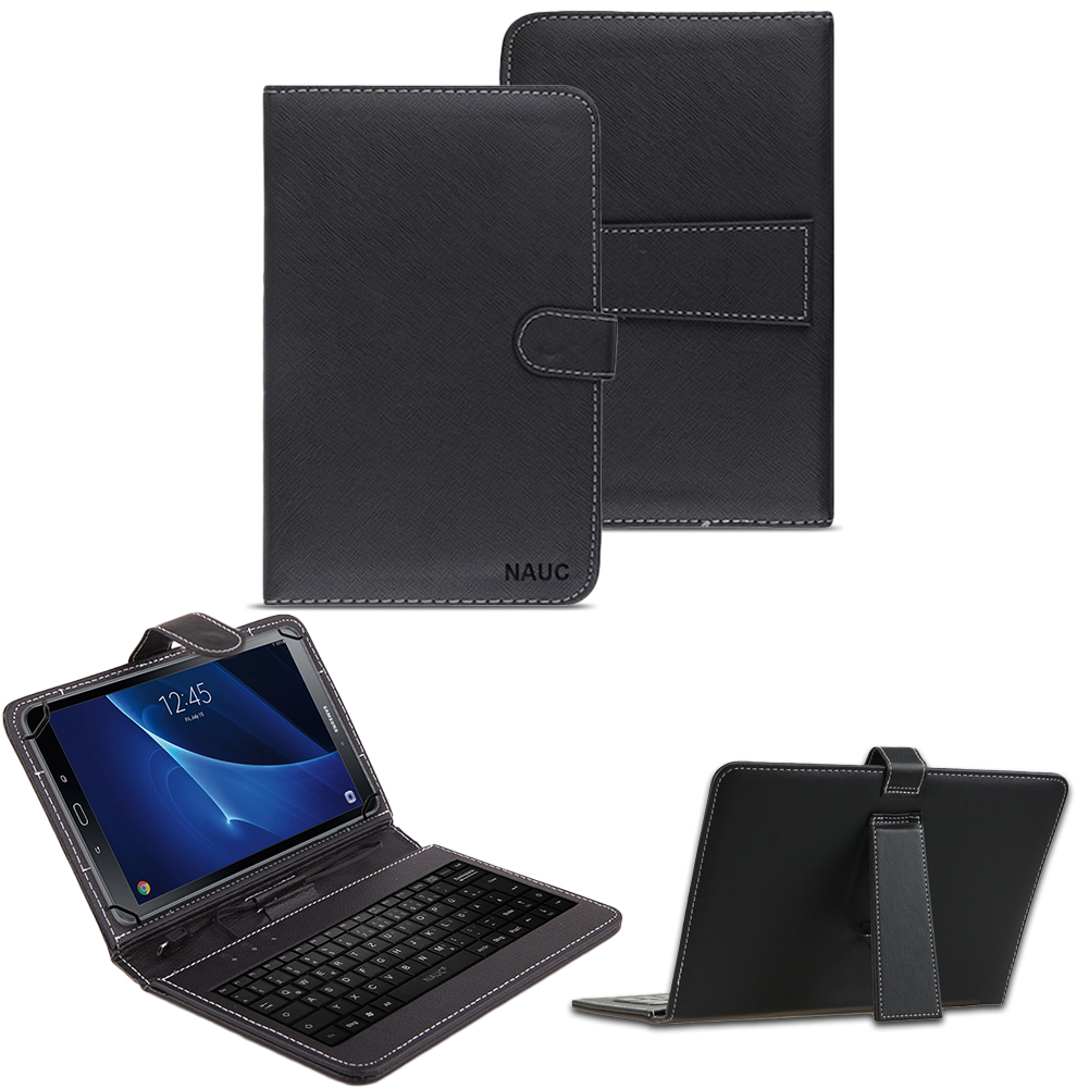 samsung galaxy tab a6 10 1 tastatur tasche keyboard h lle cover schutzh lle case notebook. Black Bedroom Furniture Sets. Home Design Ideas