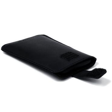 Leder Tasche Medion Life E4504 E4503 Pull Tab Sleeve Hülle Cover Schwarz Nauc – Bild 8