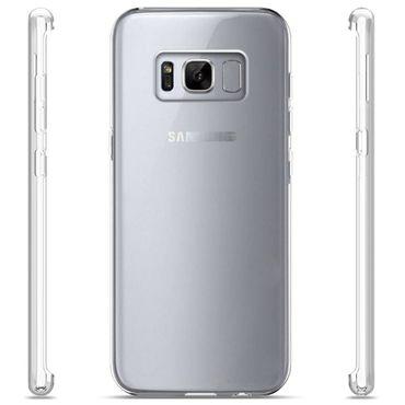 Samsung Galaxy S8 Plus Tasche Ultra Slim Hülle Schutzhülle Bumper Case Back Cover  – Bild 4