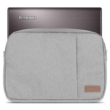 Lenovo Yoga 900 / 900S / 910 / 510 / 710 / 730 Tasche Hülle Grau Notebook Cover – Bild 2