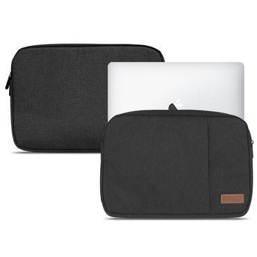 Apple MacBook 12 Notebook Schutz Hülle Tasche Cover Sleeve Case Schwarz Tablet – Bild 1
