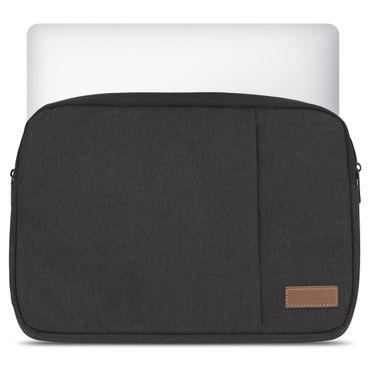 Apple MacBook 12 Notebook Schutz Hülle Tasche Cover Sleeve Case Schwarz Tablet – Bild 2