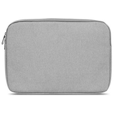 Notebook Sleeve Hülle Laptop Schutz Tasche Notebooktasche Ultrabook Macbook Grau Schwarz Tablet – Bild 5