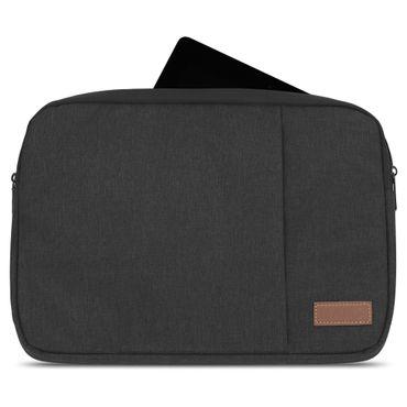 Notebook Sleeve Hülle Laptop Schutz Tasche Notebooktasche Ultrabook Macbook Grau Schwarz Tablet – Bild 9