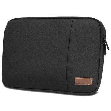 Notebook Sleeve Hülle Laptop Schutz Tasche Notebooktasche Ultrabook Macbook Grau Schwarz Tablet – Bild 11
