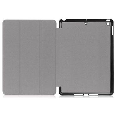 Apple iPad 2017 2018 Tablet Tasche Schwarz Hülle Cover Schutzhülle Smart Case – Bild 6