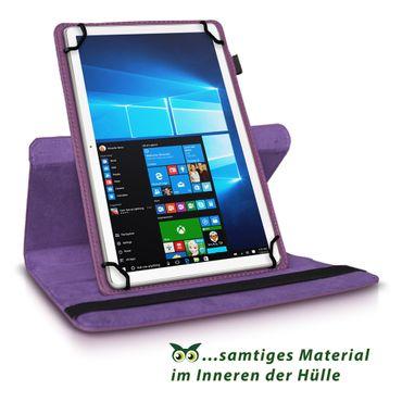 TrekStor Surftab breeze 10.1 quad 3G Tablet Hülle Tasche Case Cover 360° Drehbar – Bild 22