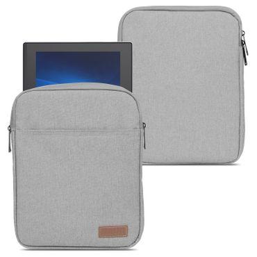 Tablet Hülle für 10 - 10.1 Zoll Tasche Schutzhülle Grau Sleeve Case Tab Cover – Bild 1