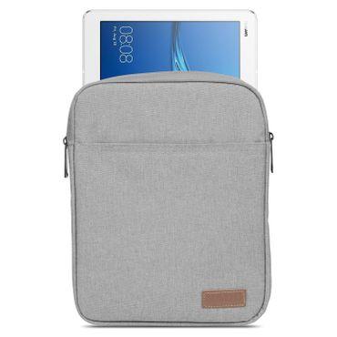 Huawei MediaPad T3 10 Tablet Hülle Tasche Schutzhülle Grau Sleeve Case Cover Bag – Bild 2