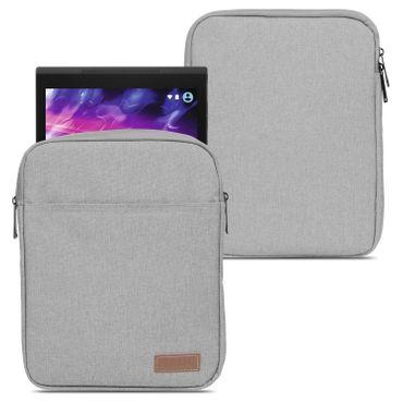 Medion Lifetab P10603 P10606 P10602 X10605 X10607 P9702 Hülle Tasche Schutzhülle Grau Sleeve Cover – Bild 1