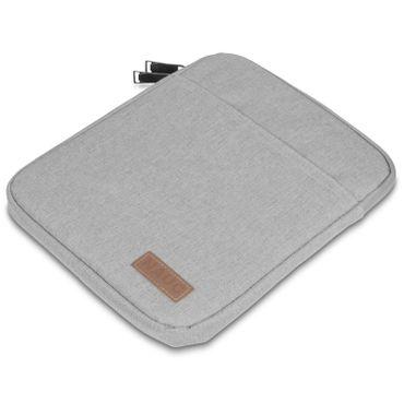Medion Lifetab P10603 P10606 P10602 X10605 X10607 P9702 Hülle Tasche Schutzhülle Grau Sleeve Cover – Bild 6