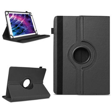 Medion Lifetab P10610 Tablet Tasche Hülle Schwarz Schutzhülle Cover 360° Drehbar – Bild 1