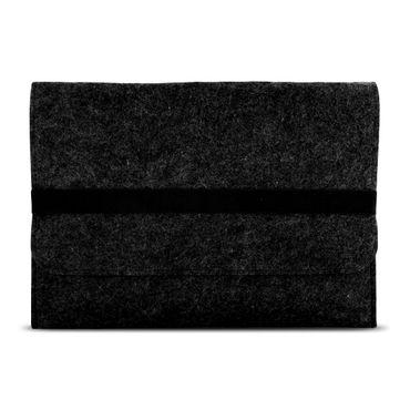 Huawei MediaPad T3 10 Tasche Grau Sleeve Hülle Tablet Filz Cover Schutzhülle Case – Bild 4