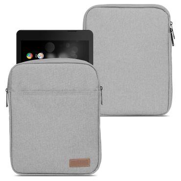 TrekStor Primetab P10 Tablet Hülle Tasche Schutzhülle Grau Sleeve Cover Case Bag – Bild 1