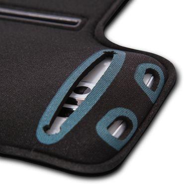 Jogging Tasche für Apple iPhone 6s / 6 Plus Fitness Hülle Schwarz Sportarmband  – Bild 5