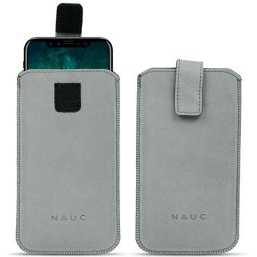 Leder Tasche für Apple iPhone Serie Pull Tab Sleeve Hülle Schutzhülle Case Cover – Bild 20