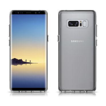 Samsung Galaxy Note 8 Tasche Hülle Silikon Bumper Schale transparent Ultra Slim – Bild 2