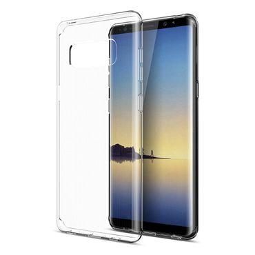 Samsung Galaxy Note 8 Tasche Hülle Silikon Bumper Schale transparent Ultra Slim – Bild 5
