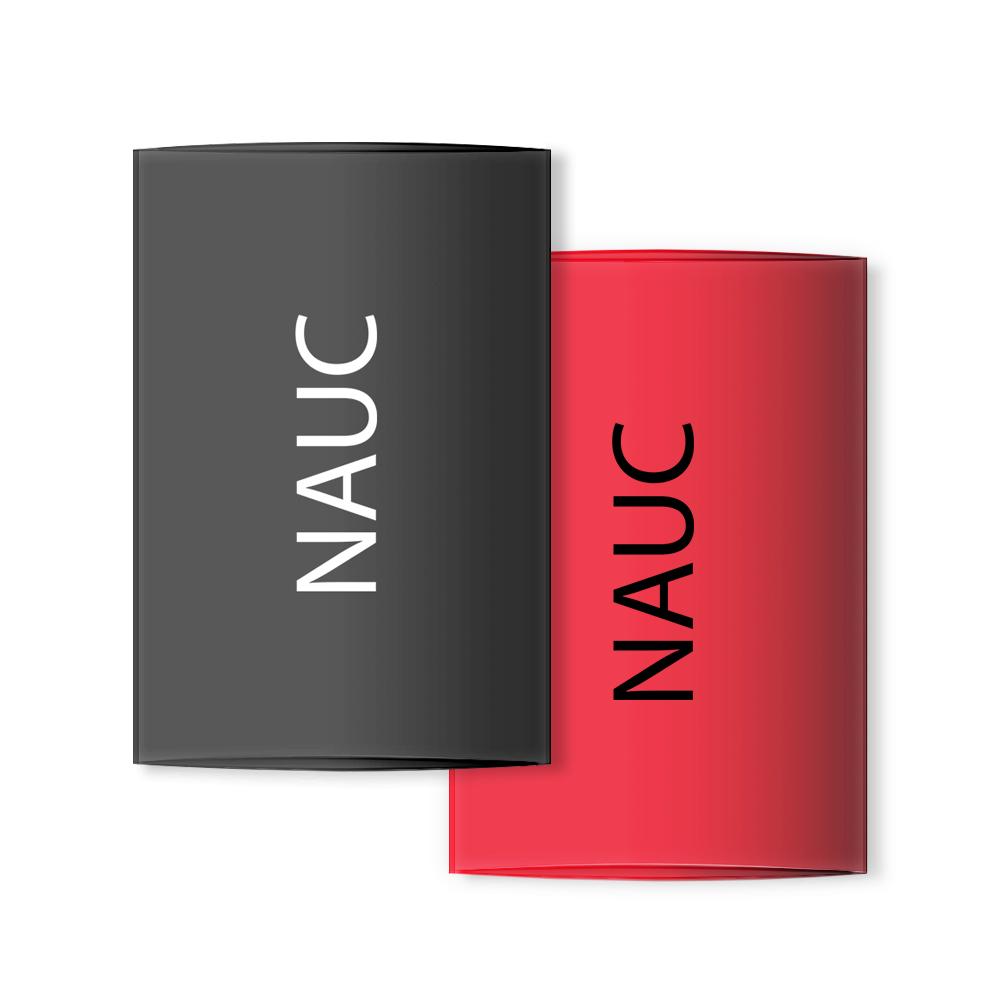 4x Schrumpfschlauch für Bananenstecker Banana Tube Kabel rot schwarz von NAUC