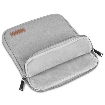 Samsung Galaxy Tab A6 10.1 Tablet Sleeve Hülle Tasche Schutzhülle Grau Cover Bag – Bild 8