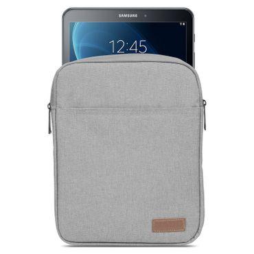 Samsung Galaxy Tab A6 10.1 Tablet Sleeve Hülle Tasche Schutzhülle Grau Cover Bag – Bild 2