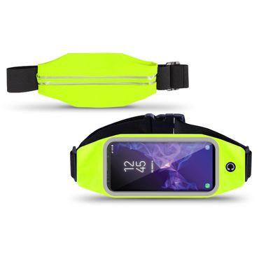 Samsung Galaxy S9 Bauchtasche Sport Tasche Jogging Hülle Handy Case Fitness Bag – Bild 13