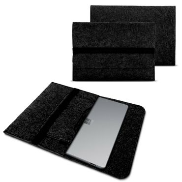Sleeve Hülle für Microsoft Surface Book 2 15 Zoll Notebook Tasche Filz Cover Case – Bild 9