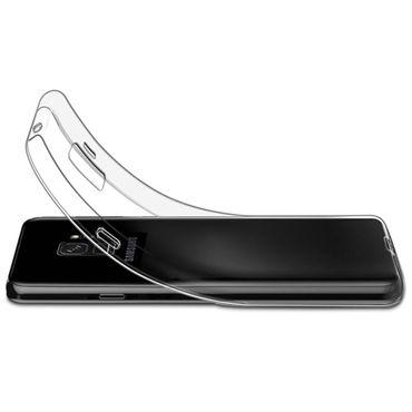 Tasche Hülle Samsung Galaxy S9 Silikon Bumper Schale transparent Ultra Slim Etui – Bild 5