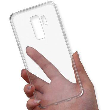 Tasche Hülle Samsung Galaxy S9 Plus Silikon Bumper Schale transparent Ultra Slim – Bild 6