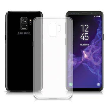 Hülle Bumper Samsung Galaxy S9 Tasche Schutzhülle transparent Ultra Slim Case – Bild 1