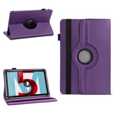 Tablet Hülle Huawei MediaPad M5 8.4 Tasche Schutzhülle Cover Case 360° Drehbar – Bild 14