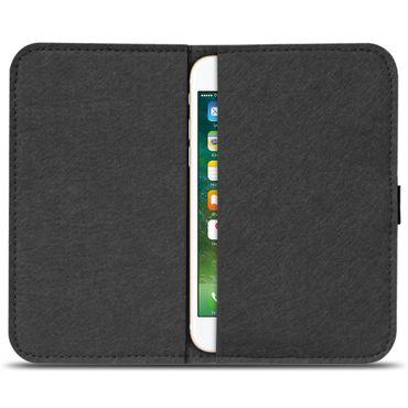Filz Hülle Apple iPhone 7 / 8 Plus Tasche Handy Schutz Cover Schutzhülle Case – Bild 15