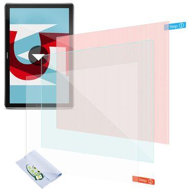 3x Displayschutzfolie Huawei MediaPad M5 / Pro Schutzfolie Uni Displayfolie 10.8 – Bild 1